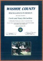 1999 Washoe County Excellence in Design