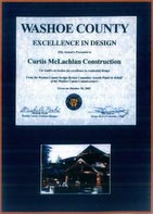 2002 Washoe County Excellence in Design