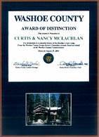 2004 Washoe County Award of Distinction